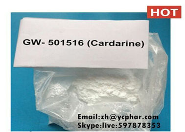 Chiny GW-501516 Cardarine SARM Steroid Bodybuilding MK2866 Lean Mass Workout Cycle dostawca
