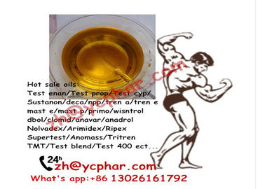Chiny Dark Yellow Injectable Liquid Trenbolone Acetate 100mg/ml Bulking Cycle Steroid fabryka